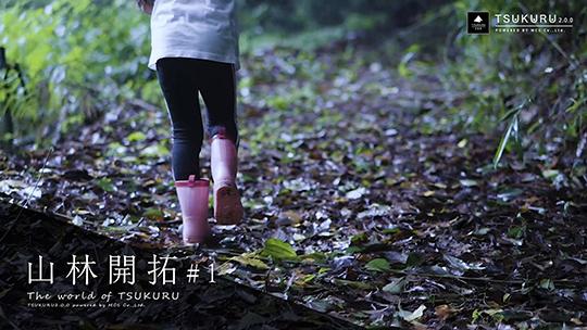 山林開拓をして子供達と安全に遊べる理想の地を作る
