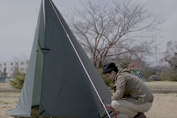 DDタープをテントにする