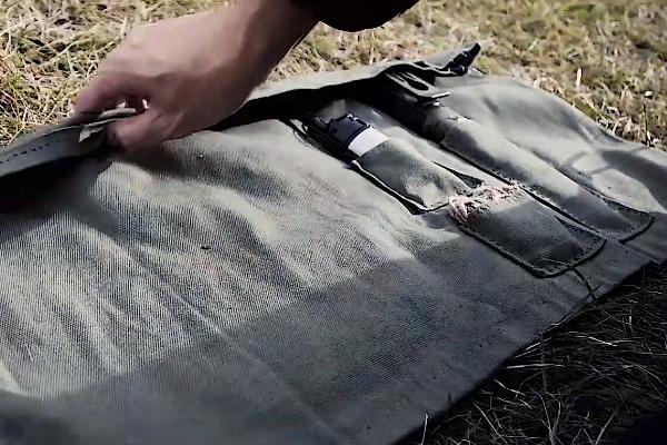 自作の帆布ケース