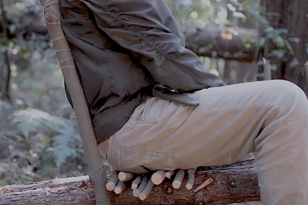木の椅子を作る