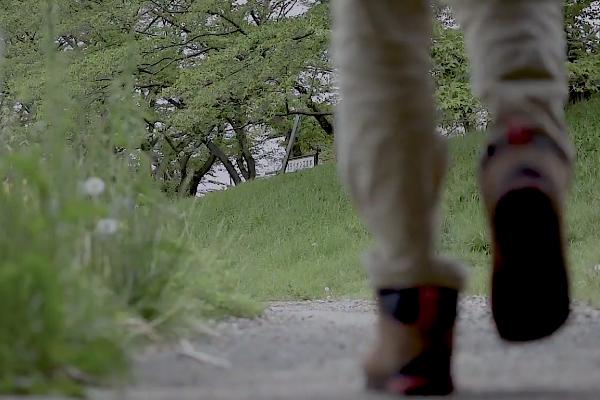 キャンプができそうな場所を探して歩く