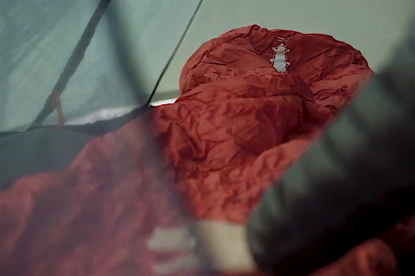 冬用のシュラフ(寝袋)